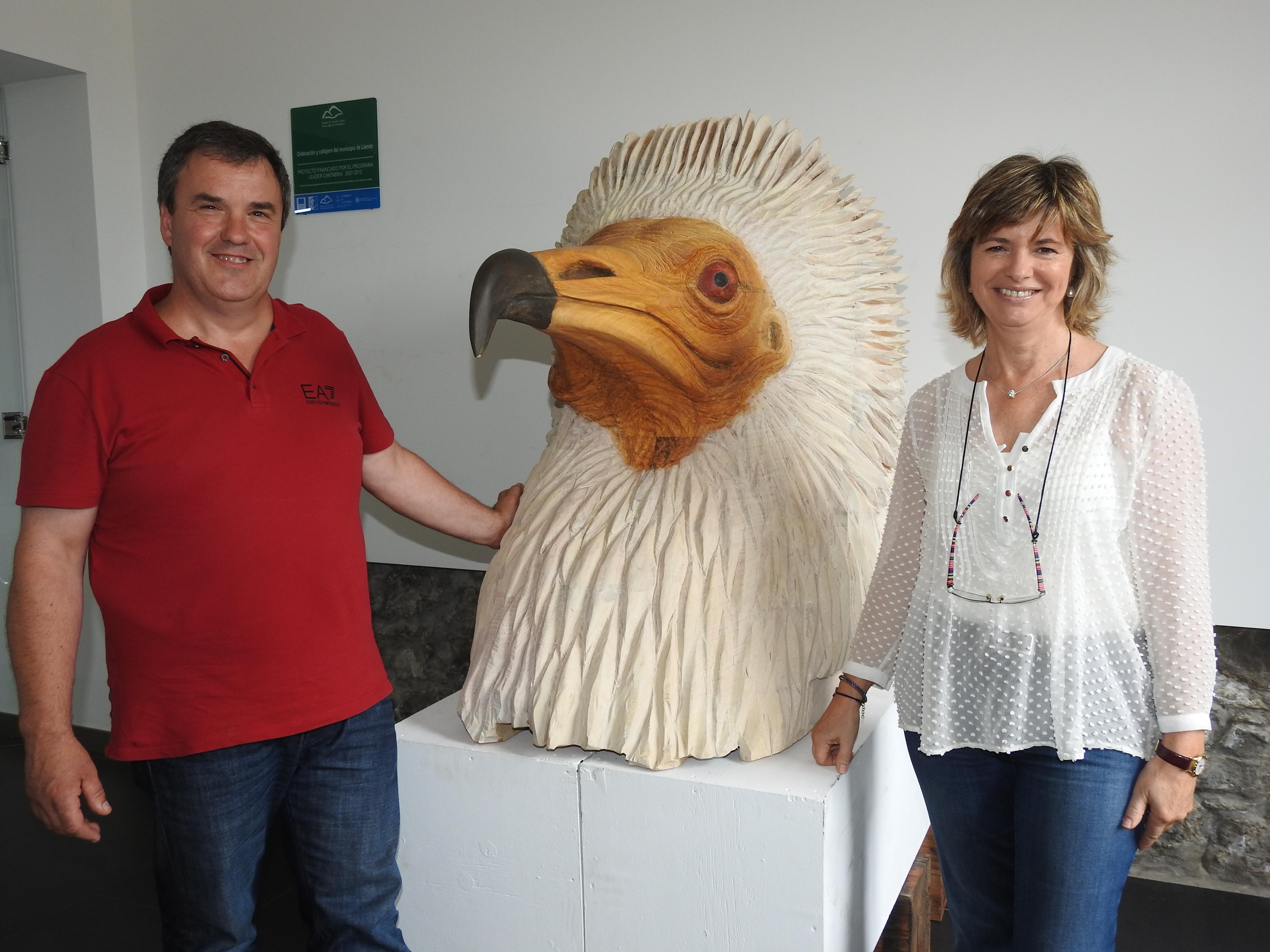 Alcalde y teniente alcalde de Liendo. Cantabria
